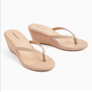 Torrid sandal wedges